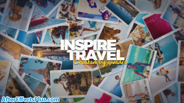 پروژه افتر افکت اسلایدشو مسافرتی چند منظوره - Inspiring Travel Photo Slideshow