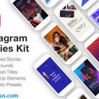 پروژه افتر افکت پکیج ابزار استوری اینستاگرام – Instagram Stories Kit // Instagram Story Pack