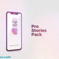 پروژه افتر افکت استوری تبلیغاتی اینستاگرام – Instagram Stories Pro