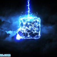 پروژه افتر افکت نمایش لوگو با افکت رعد و برق – Lightning Strike Reveal