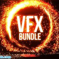 پروژه افتر افکت نمایش لوگو آتش بازی و پکیج جلوه های ویژه – Portal Logo VFX Bundle