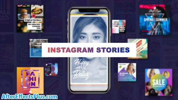 پروژه افتر افکت استوری شیک اینستاگرام - Videohive Stylish Insta Stories