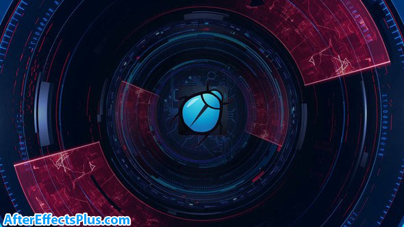 پروژه افتر افکت نمایش لوگو تکنولوژی - Technology Logo