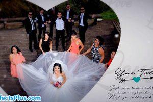 پروژه افتر افکت آلبوم عکس عروسی و عاشقانه – Wedding Album