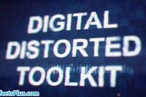 پروژه افتر افکت ابزار پارازیت و نویز دیجیتال – Digital Distorted Toolkit