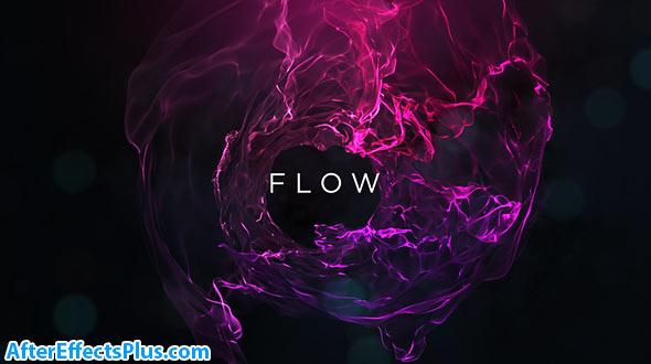 دانلود پروژه افتر افکت تیزر نمایش متن با جریان رنگ - Flow Titles