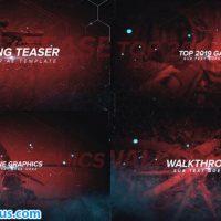 پروژه افتر افکت اینترو و تیزر بازی کامپیوتری – Gaming Channel Teaser