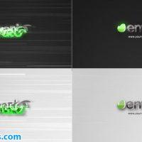 پروژه افتر افکت لوگو مینیمال با افکت قطعی سیگنال – Glitch Minimal Logo