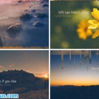 پروژه افتر افکت اسلایدشو چند منظوره الهام بخش – Inspirational Slideshow