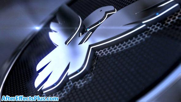 دانلود پروژه افتر افکت نمایش لوگو فلزی سه بعدی - Metallic 3D Logo Reveal