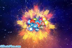 پروژه افتر افکت نمایش لوگو شبکه ارتباطی و اجتماعی – Network Logo Reveal