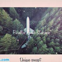 پروژه افتر افکت اسلایدشو پارالاکس فریم دار – Parallax Frame Slideshow