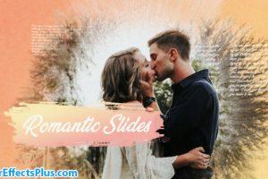 دانلود پروژه افتر افکت اسلایدشو رمانتیک جوهری – Romantic Ink Slideshow