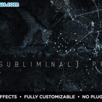 پروژه افتر افکت اسلایدشو ترسناک و مهیج – Subliminal Slideshow