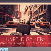 پروژه افتر افکت گالری عکس تا شده – Unfold Gallery