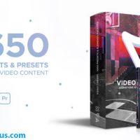 پروژه افتر افکت پکیج ابزار و پریست فیلم سازی – Video Library Video Presets Package