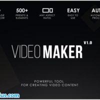 پروژه افتر افکت ابزار ساخت فیلم و کلیپ حرفه ای – Video Maker