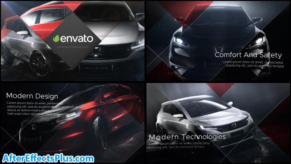 پروژه افتر افکت تیزر تبلیغاتی نمایندگی فروش خودرو - Car Dealer Promo