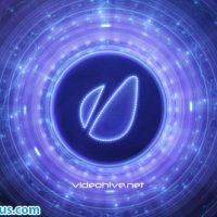 پروژه افتر افکت نمایش لوگو کهکشان دیجیتال – Disk Galaxy Logo Reveal