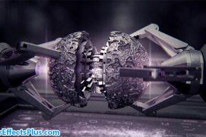 پروژه افتر افکت نمایش لوگو با بازوی رباتیک – Guardians Galaxy