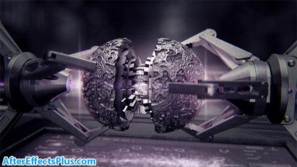پروژه افتر افکت نمایش لوگو با بازوی رباتیک - Guardians Galaxy