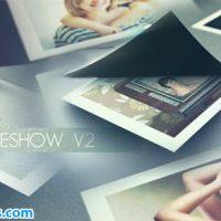 پروژه افتر افکت اسلایدشو عکس با کنده شدن کاغذ – Peeling Slideshow