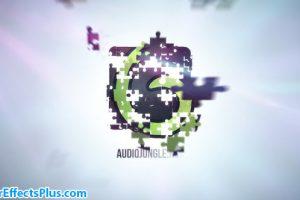 پروژه افتر افکت نمایش لوگو با تکه های پازل – Puzzle Clean Logo