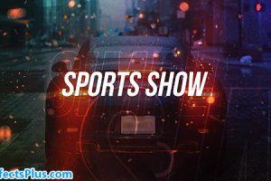 پروژه افتر افکت اینترو ورزشی چند منظوره – Simple Sports Show