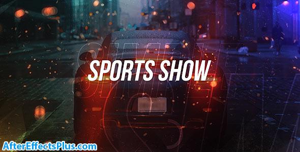 پروژه افتر افکت اینترو ورزشی چند منظوره - Simple Sports Show