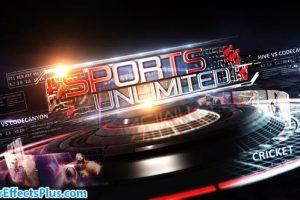 پروژه افتر افکت پکیج ابزار و اینترو ورزشی نامحدود – Sports Unlimited Broadcast Pack