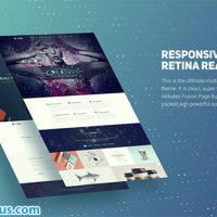 پروژه افتر افکت تیزر معرفی سایت مدرن – Modern Website Presentation