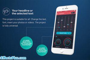 پروژه افتر افکت پکیج قالب موبایل برای ارائه – Phone Presentation Pack