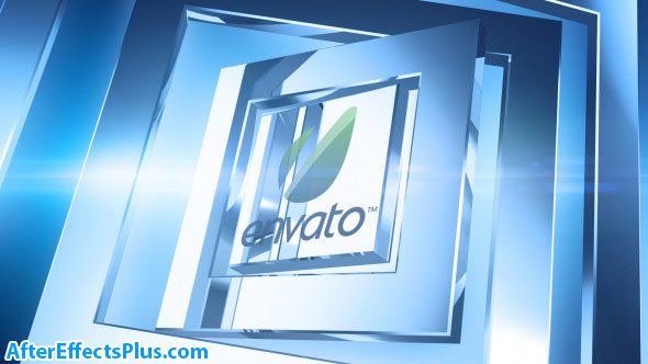 پروژه افتر افکت نمایش لوگو فلزی چند منظوره - Corporate Chrome Logo