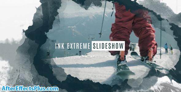 پروژه افتر افکت اسلایدشو جوهری حرفه ای - Ink Extreme Slideshow