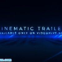پروژه افتر افکت تریلر سینمایی به همراه متن – Cinematic Trailer Titles Media Opener