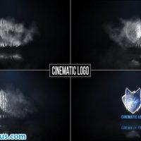 پروژه افتر افکت نمایش لوگو از میان ابر – Cinematic logo reveal