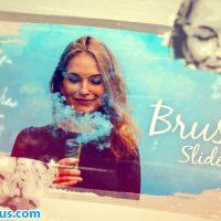 پروژه افتر افکت اسلایدشو با افکت براش دستی – Hand Drawn Photo Brush Slideshow