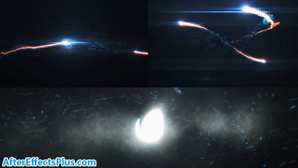 پروژه افتر افکت نمایش لوگو انفجار ذرات انرژی - Energy Particle Blast Logo Reveal
