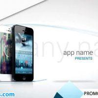 پروژه افتر افکت تبلیغ اپلیکیشن موبایل – Promotion App