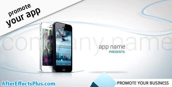 پروژه افتر افکت تیزر تبلیغاتی برنامه موبایل آیفون