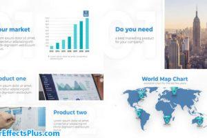 پروژه افتر افکت قالب پرزنتیشن کسب و کار – Your Business Corporate Presentation