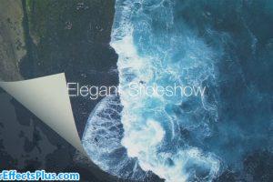 پروژه افتر افکت اسلایدشو با افکت ورق زدن کاغذ – Elegant Slideshow