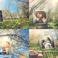 پروژه افتر افکت اسلایدشو عروسی در فصل بهار – Spring Wedding Slide