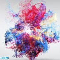 پروژه افتر افکت نمایش لوگو انفجار رنگ – Colorful Explosion Logo Reveal