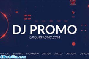 پروژه افتر افکت تیزر تبلیغاتی دی جی – DJ Promo