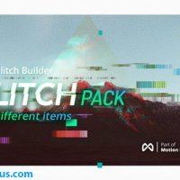 پروژه افتر افکت پکیج افکت نویز و پارازیت – Glitch Pro Essential Glitch Effects Pack