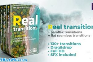پروژه افتر افکت ترانزیشن واقعی – Real transitions