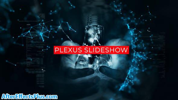 پروژه افتر افکت اسلایدشو تکنولوژی با افکت پلکسوس - Technology Plexus Slideshow