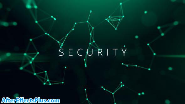 پروژه افتر افکت اینترو تکنولوژی سایبری - Cyber Technology
