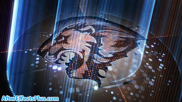 پروژه افتر افکت نمایش لوگو با اشعه نور - Light Rays Logo